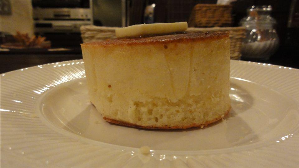 厚4cmクラスのパンケーキ
