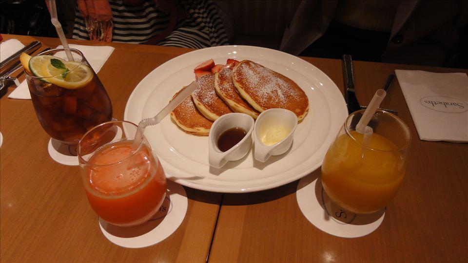 バターミルクパンケーキ Sarabeth's サラベス ルミネ新宿店(東京/新宿)