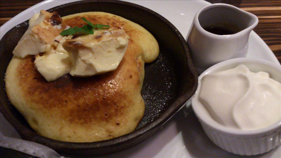 butter バター茶屋町店のパンケーキ