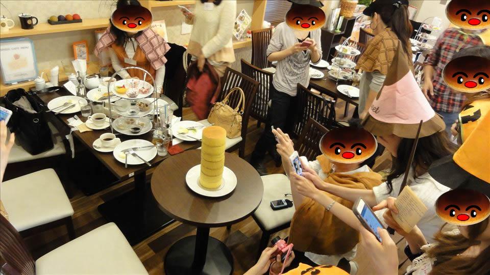 パホケ会14 極厚パンケーキタワーも登場♪ 真心(シンシン)大阪/長田