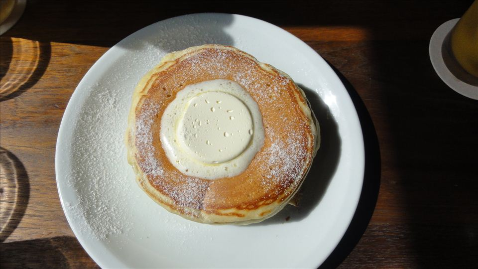 代官山 T-SITE GARDEN クラシック バターミルク パンケーキ IVY PLACE(アイヴィープレイス)