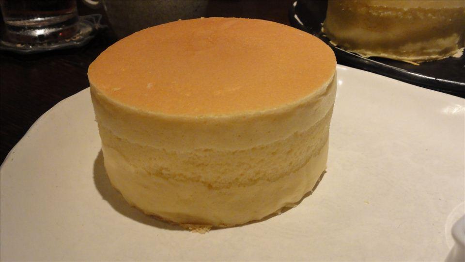 厚さ5cmクラスのパンケーキ