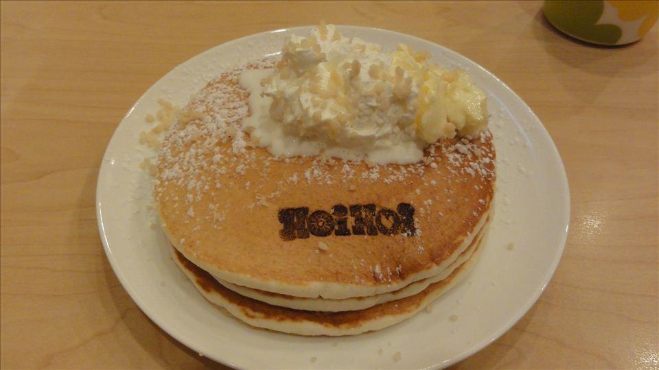 プレーンのクラシックパンケーキ(HoiHoi)ホイホイ(名古屋/栄)
