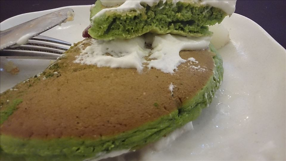 アンジュジュメールで、らんらん感謝祭なパンケーキ