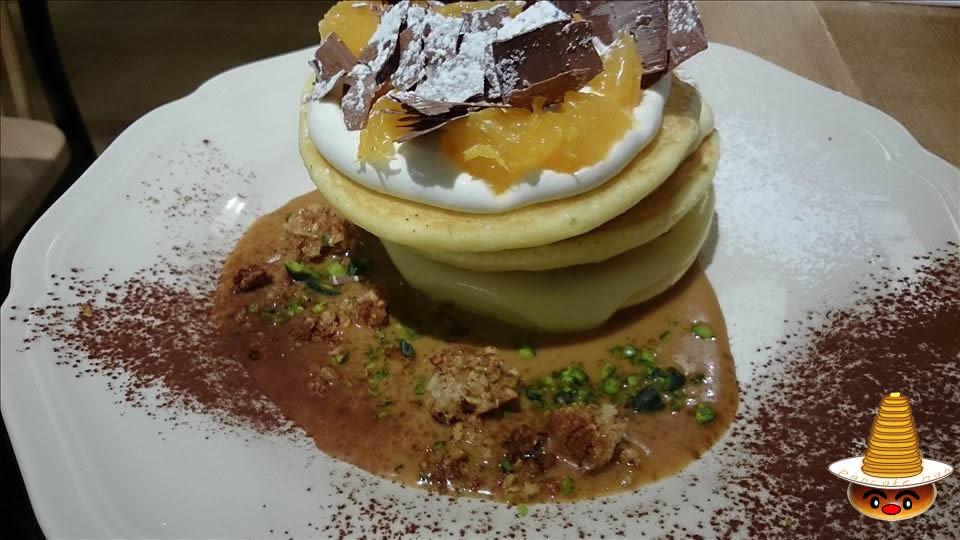 アフタヌーンティのパンケーキ(大阪/天王寺)パンケーキマン