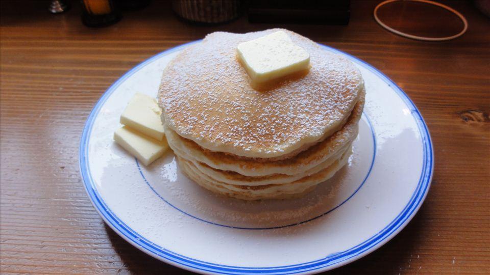 小呂野珈琲店のパンケーキ(豊橋)