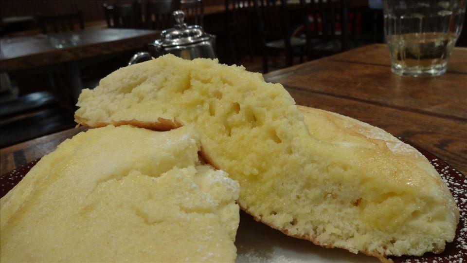 大きくて、フワッフワの優しいホットケーキEnjoy CAFE(エンジョイ カフェ)(大阪/南堀江)