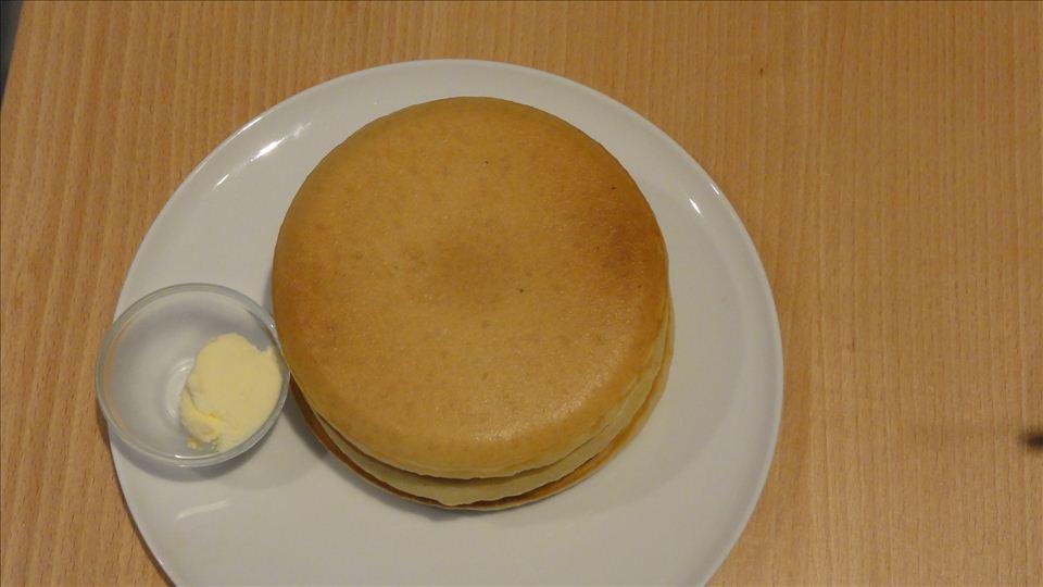 パンケーキ リストランテ(旧モトヤ)プレーンパンケーキ