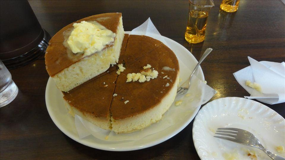 世界最大?巨大なジャンボホットケーキ