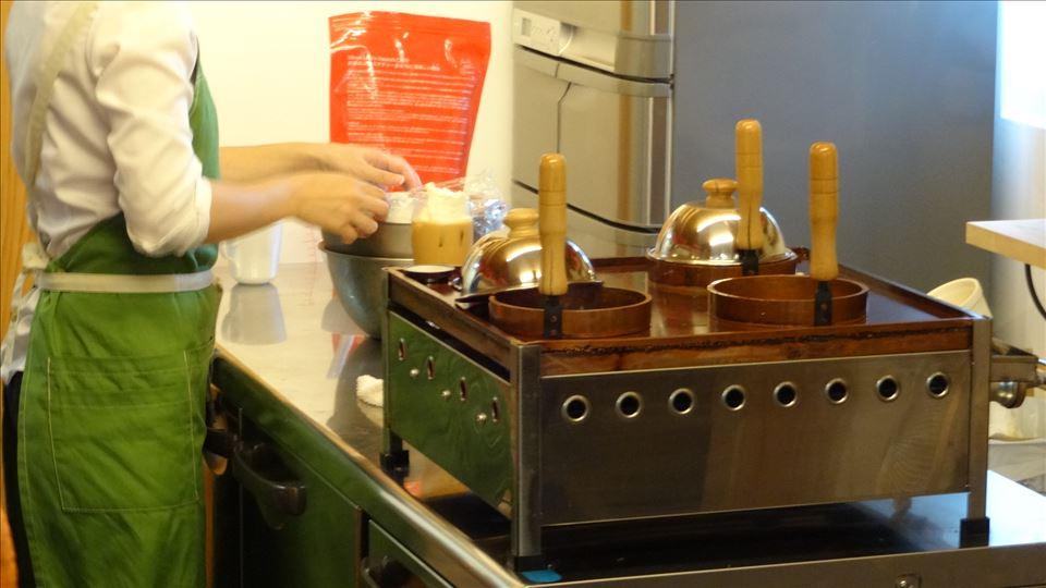 カラコル のホットケーキは、ムレスナティー系 (兵庫/芦屋)