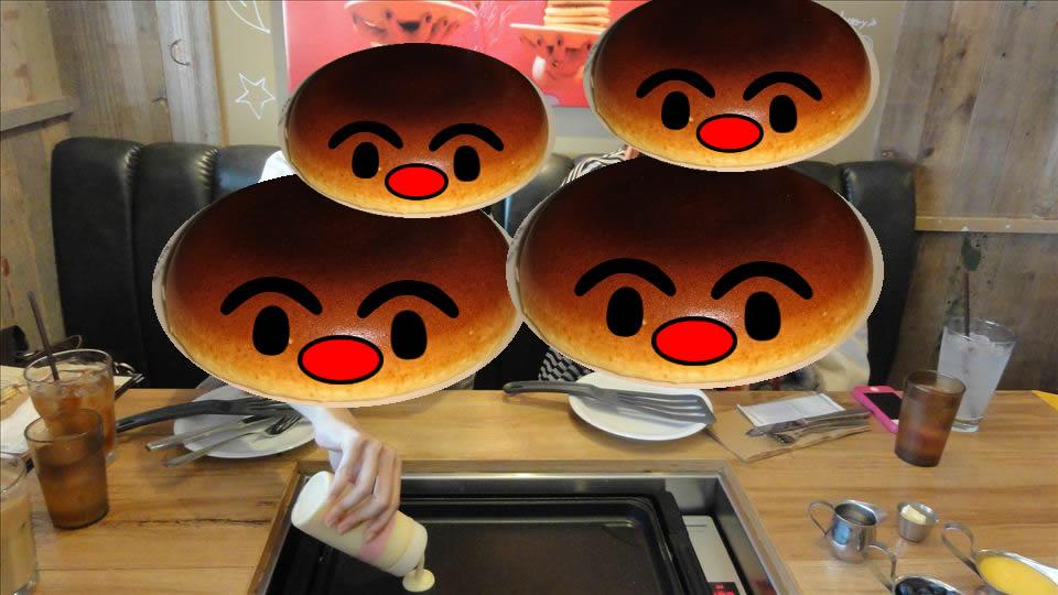 自分で焼くバターミルクパンケーキSlappy Cakes スラッピーケークス(東京/新宿)