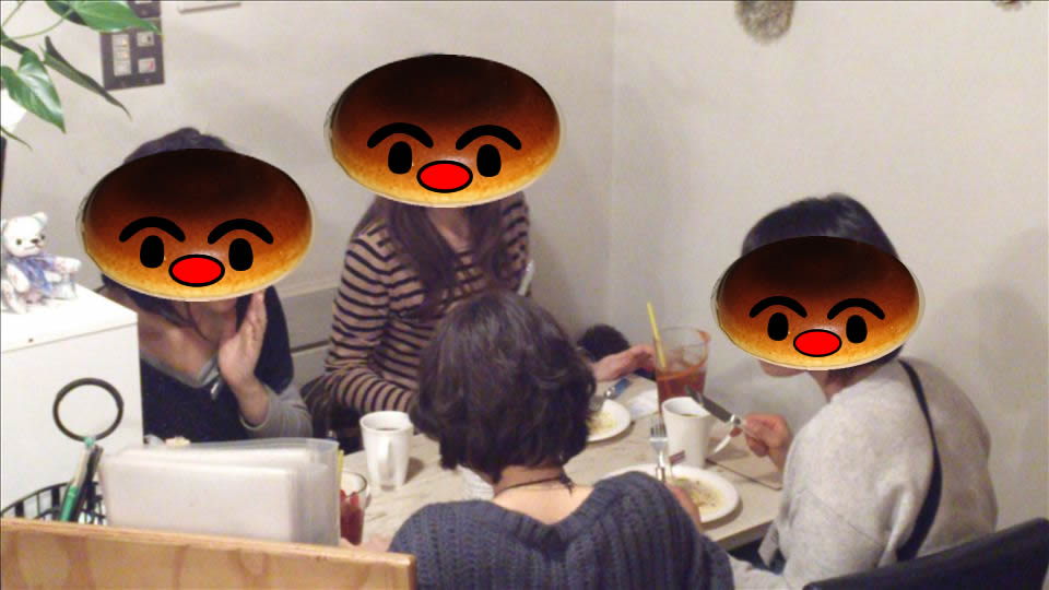 パホケ会6 パンケーキタワー38 ハプナ カフェ(大阪/鶴見)