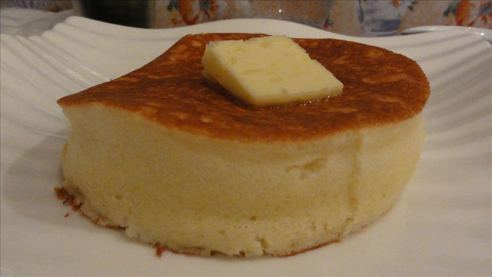 厚さ4cmクラスのパンケーキ