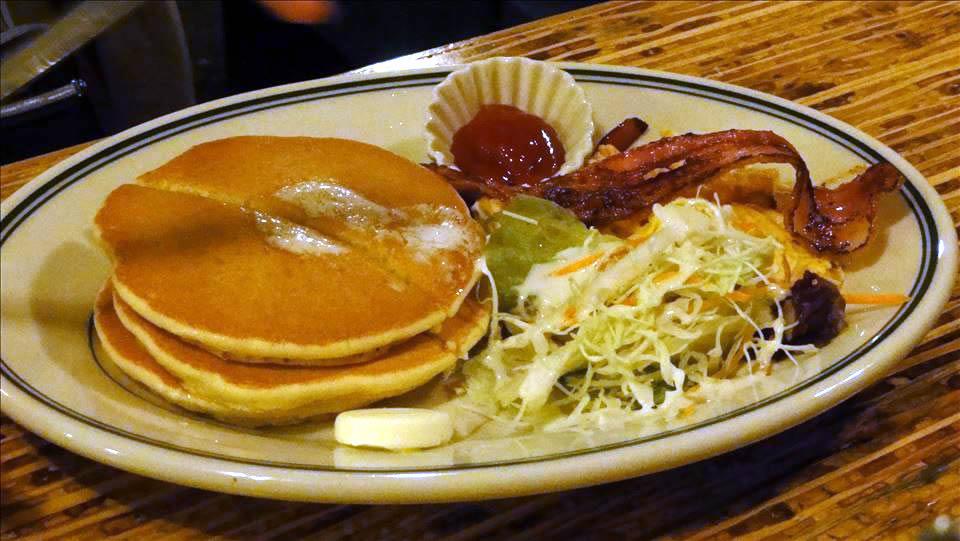 パホケ会13 アフター ボ・タンバリンカフェのパンケーキ(神戸三宮)