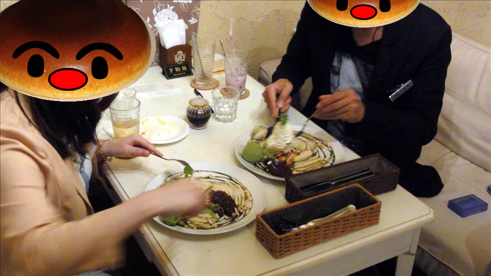 パホケ会8 パンケーキSOISOI(ソイソイ)近大前