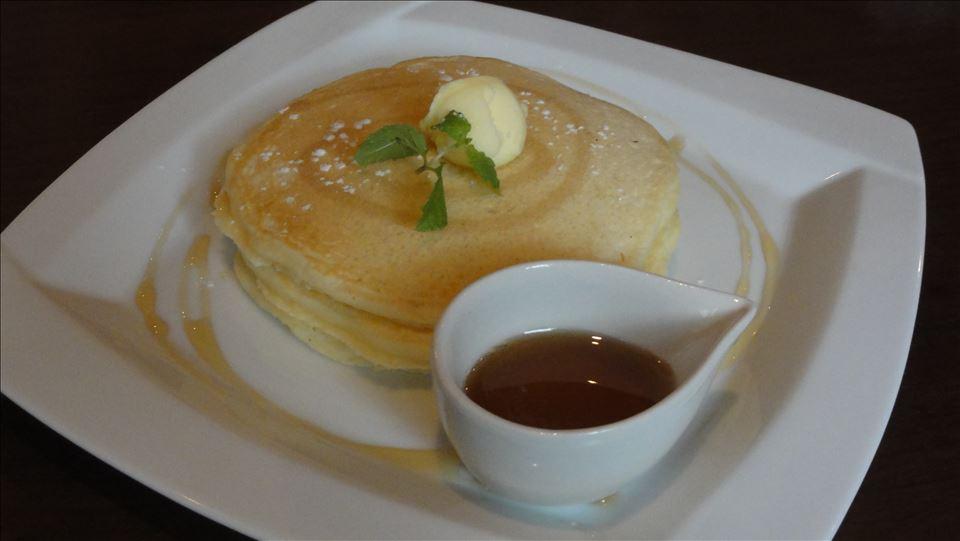 パホケ会13 アフター マチャマチャのパンケーキ(神戸三宮)