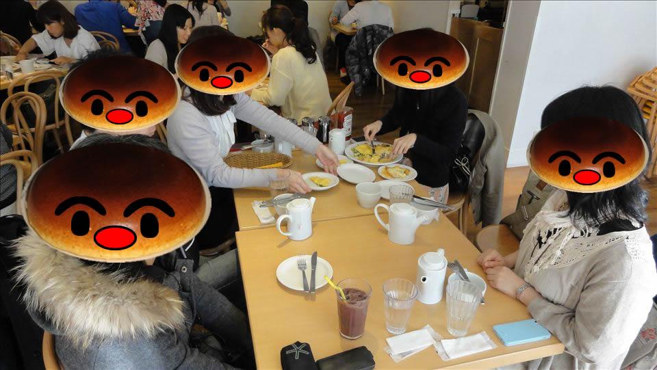 2013東京パホケ巡り2 パンケーキとオムレツ エッグスンシングス(東京/原宿)