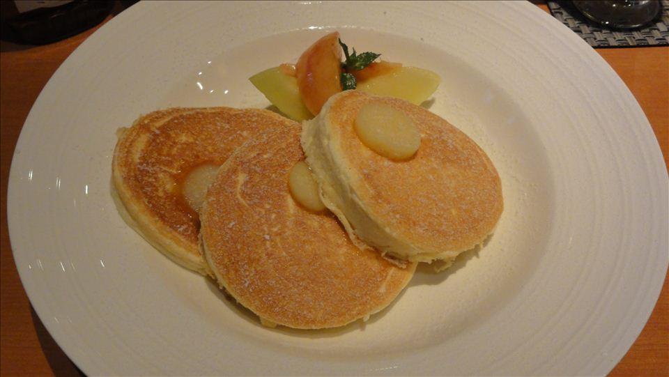 ホテルニューオータニSATSUKI(赤坂見附)特製パンケーキ