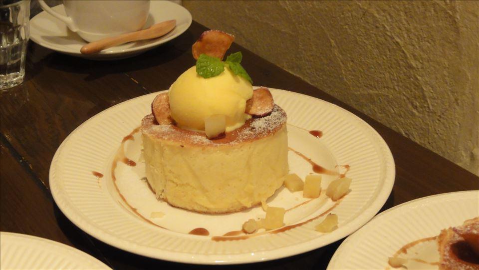 ~秋のパホケ巡り2013 京都/大阪編~ブルーファーツリーホットケーキ