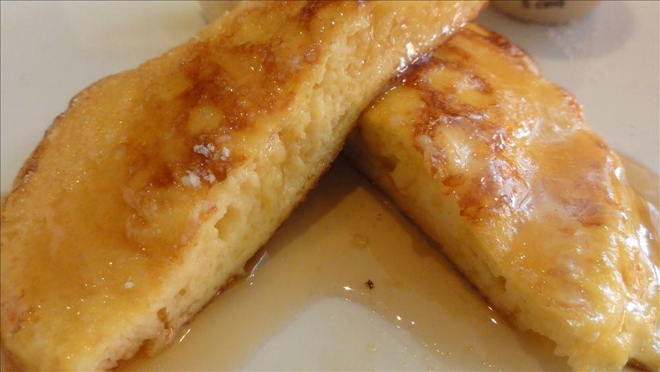 半熟とろけるパンケーキとフレンチパンケーキ ラ プルマン カフェ(静岡/浜松)