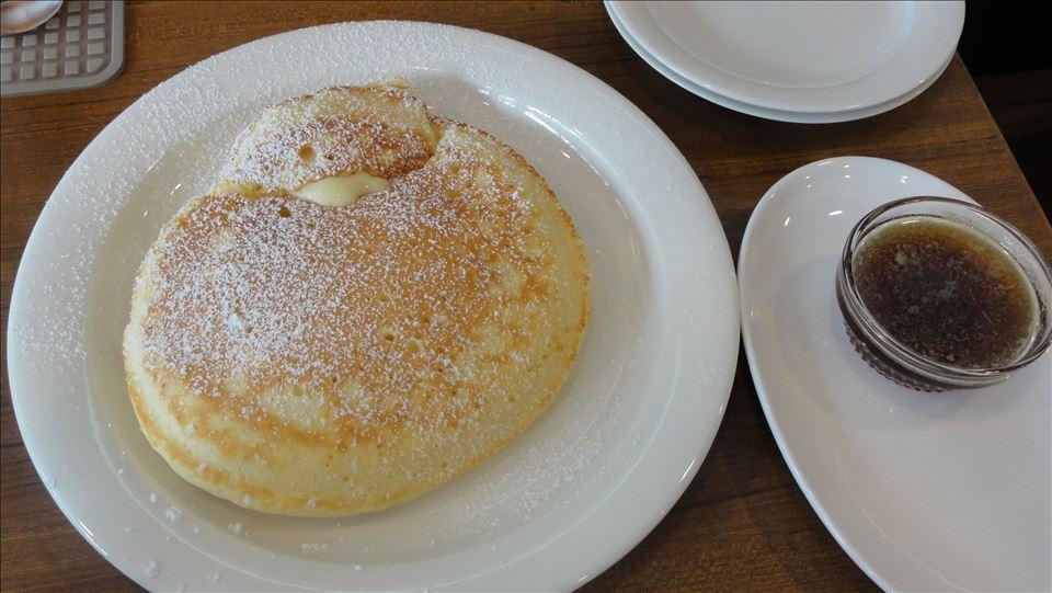 パンケーキ ウォーム メイプルバター huku cafe(フクカフェ)(京都/新町通り押小路下る)