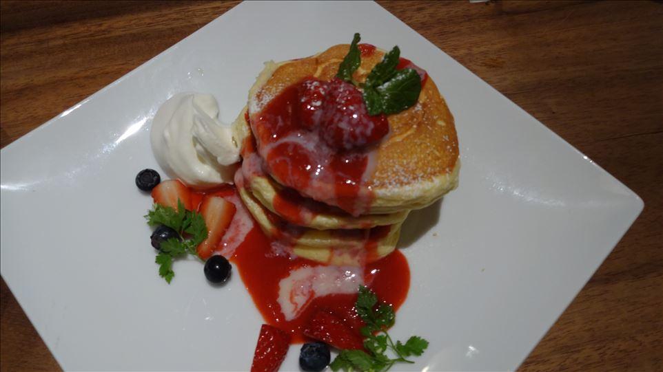 北摂パホケ巡り2014♪色んなパンケーキ ポット、グリーンノースカフェ、コパン コピーヌ(大阪)